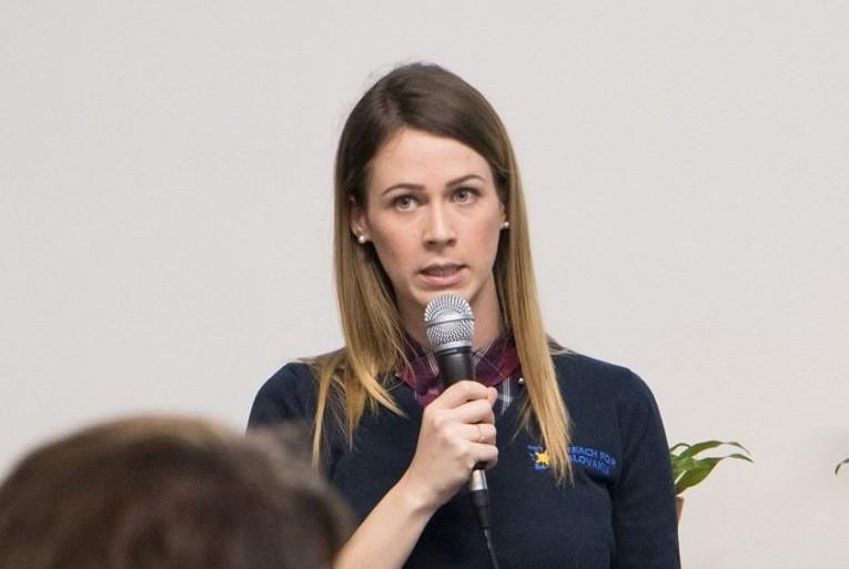 Soňa Koreňová, ambasádorka Teach for Slovakia, ročník 2014